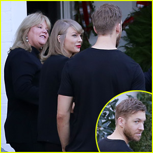 Taylor Swift Spends Her Birthday with Calvin Harris & Her Parents!