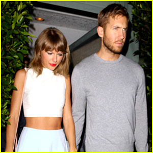 Taylor Swift Rings in 26th Birthday at Christmas Party with Calvin Harris!