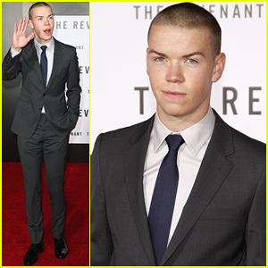 Will Poulter Chats Up 'The Revenant' Ahead of Hollywood Premiere
