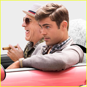 Zac Efron Takes a Ride With Robert De Niro in New 'Dirty Grandpa' Poster