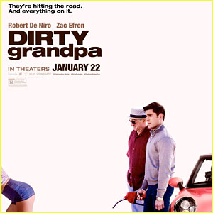 Zac Efron Hits the Road in 'Dirty Grandpa' Teaser Poster