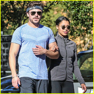 Zac Efron Goes for a Jog With Girlfriend Sami Miro!