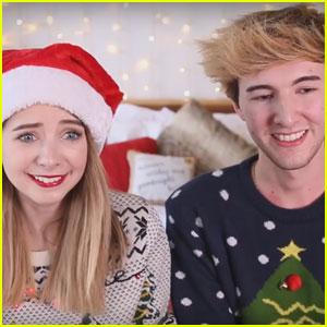 YouTube Stars Zoella & Mark Ferris Take the Ultimate Christmas Quiz - Watch Now!
