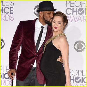 Allison Holker Shows Off Baby Bump At People's Choice Awards 2015