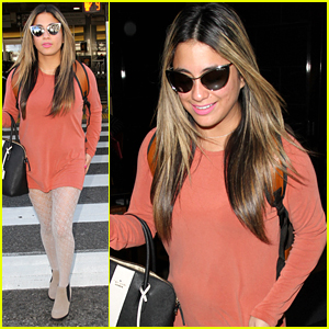 Fifth Harmony's Ally Brooke Arrives Back in LA After Gifting Children at Texas Hospital