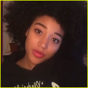 Amandla Stenberg Comes Out As Bisexual During Teen Vogue Snapchat Takeover