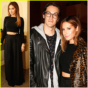 Ashley Tisdale & Christopher French Fly To Orlando For Matrix Total Results Destination Event