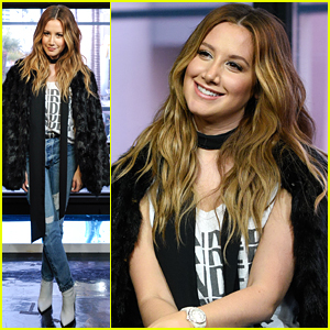 Ashley Tisdale Promotes New Signorelli Collection Before 'HSM' 10 Year Anniversary Special