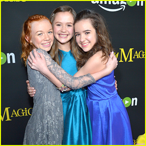 Aubrey Miller Celebrates 'Just Add Magic' Premiere in Hollywood