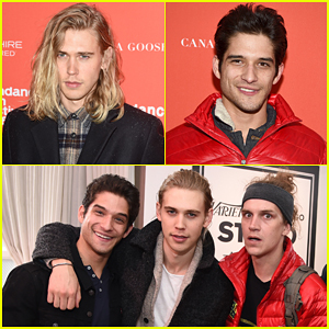 Austin Butler & Tyler Posey Team Up At Sundance 2016 For 'Yoga Hosers'!