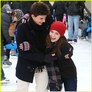 Bailee Madison & Rhys Matthew Bond Go Ice Skating in Toronto - See The Cute Pics!