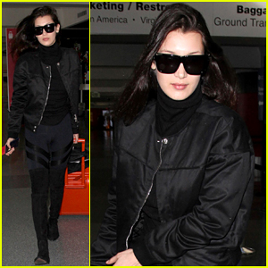 Bella Hadid Gets Back to Work in NYC