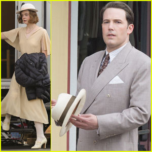Elle Fanning Goes 20s for 'Live By Night' Filming With Ben Affleck