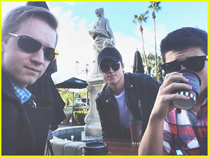 Bradley Steven Perry Reunites With Jason Dolley & Shane Harper For 'Friday Chill'