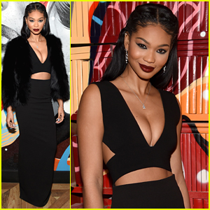 Chanel Iman Celebrates Vandal Restaurants Grand Opening In NYC
