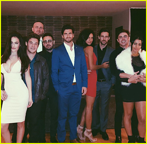 Chloe Bridges & Adam Devine Celebrate NYE with Zac Efron & Sami Miro