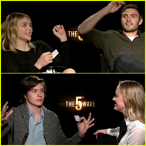 '5th Wave' Cast Has Fun with JJJ's 'Lose Da Lyrics' Game! (Video)
