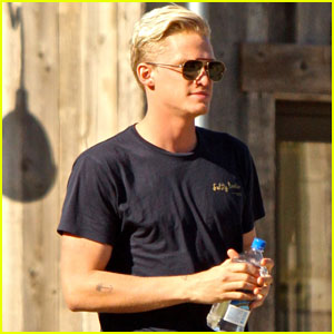 Cody Simpson Shows Off Slick New Haircut!