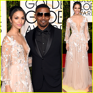Corinne Foxx Shines As Miss Golden Globe 2016 On Red Carpet