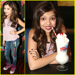 Cree Cicchino Hits Up Planet Hollywood in NYC Before New 'Game Shakers' Episode Tonight