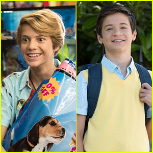 Davis Cleveland & Jace Norman Star in Nickelodeon's New Movie, 'Rufus'!