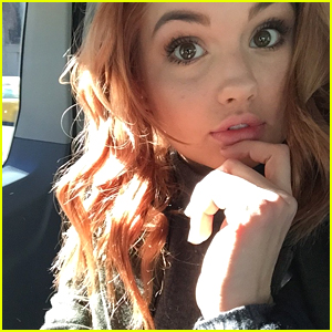 Debby Ryan Returns To Red Hair, But Only For A New York Minute