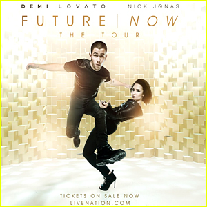 Demi Lovato Debuts New 'Future Now' Poster Before Grabbing Coffee with Nick Jonas