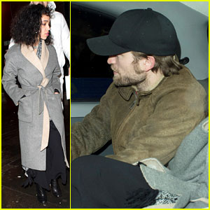 FKA twigs & Robert Pattinson Party it Up for Birthday Night Out