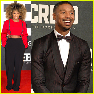 Fleur East Supports Michael B. Jordan At 'Creed' UK Premiere