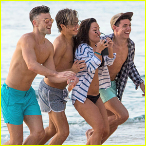 George Shelley Rings In The New Year In Barbados On The Beach