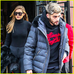 Gigi Hadid Emerges from Hotel with Zayn Malik After Saying She Misses Kendall Jenner