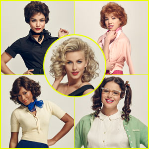 Vanessa Hudgens & 'Grease: Live' Girls on How To Spot a Pink Lady - Watch Now! (Exclusive)
