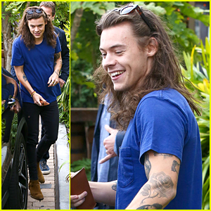 Harry Styles Lunches In Malibu After Birth of Louis Tomlinson's New Baby
