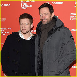 Taron Egerton Attends Secret Screening of His New Movie at Sundance 2016