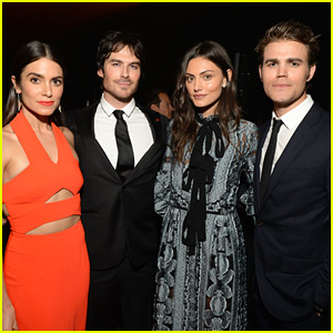 Ian Somerhalder & Paul Wesley Attend Art of Elysium Gala with Their Ladies!