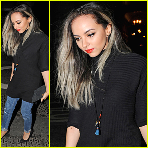 Jade Thirllwall Steps Out at Steam & Rye After Little Mix Delay 'Secret Love Song' Video