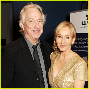 J.K. Rowling on Alan Rickman's Death: He Was a Wonderful Man