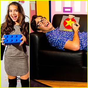 Joey Bragg & Isabela Moner Kick Off Legoland's LEGO Movie 4D Premiere