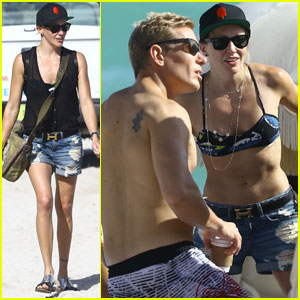 Is Katie Cassidy Dating Personal Trainer Thomas Taylor?