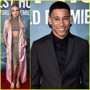 Keiynan Lonsdale Premieres 'The Finest Hours' in Hollywood