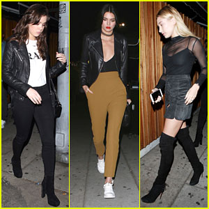 Hailee Steinfeld Joins Kendall Jenner & Hailey Baldwin at The Nice Guy
