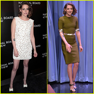 Kristen Stewart Rocks Two More Chic Looks in NYC!
