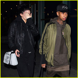 Kylie Jenner & Tyga Seen on Date Amid Cheating Accusations