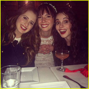 Laura & Vanessa Marano Attend 'iCarly' Stars Danielle Morrow & Jeremy Rowley's Wedding!