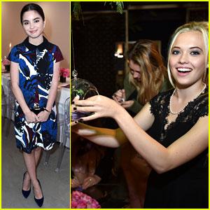 Lauren Taylor & Landry Bender Make a Wish at JJJ's 'Star Darlings' Dinner