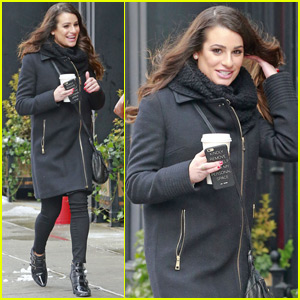 Lea Michele Gets Cozy With Her Longtime BFF Jonathan Groff