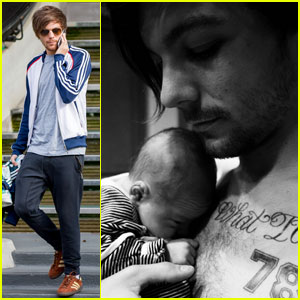 Louis Tomlinson Introduces the World to His Son - Freddie!