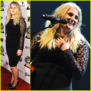Meghan Trainor Performs at Guild Of Music Supervisors Awards 2016