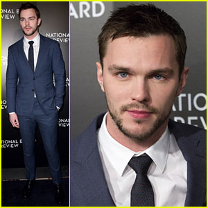 Nicholas Hoult Attends National Board of Review Awards Gala for 'Mad Max: Fury Road'
