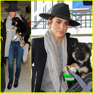 Nikki Reed Personally Flies With Dog To Deliver Her To New Owners